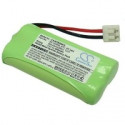 2 Accus rechargeables HR06 AA 600 mAh 2,4V - T377