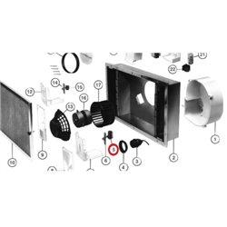 Platine de puissance pour four electrolux 3578645032