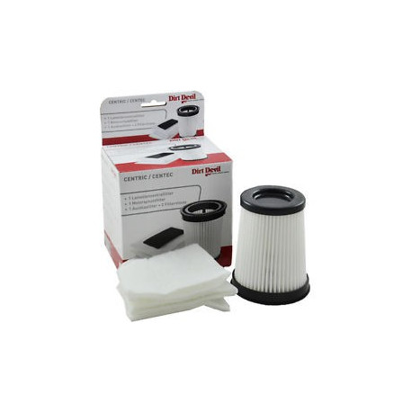 Kit 4 filtres aspirateur Dirt Devil 2828001