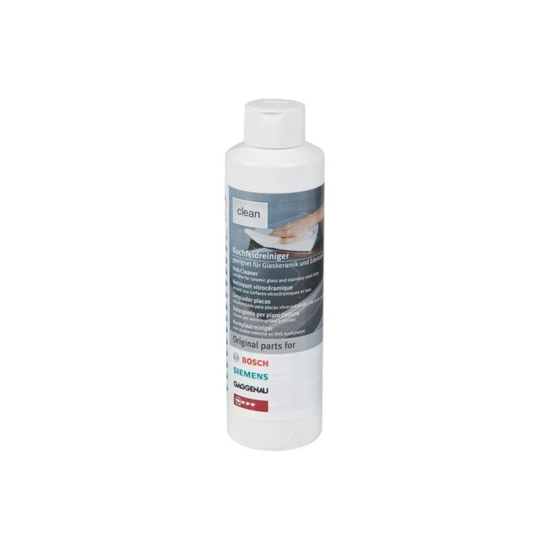 nettoyant liquide pour plaques vitroc ramiques 250 ml bosch. Black Bedroom Furniture Sets. Home Design Ideas