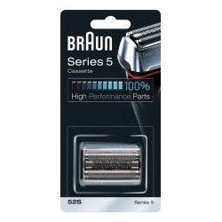 Tête de rasoir Braun 52S – pour rasoir électrique Braun Série 5 « prémium » - cassette - 81384830