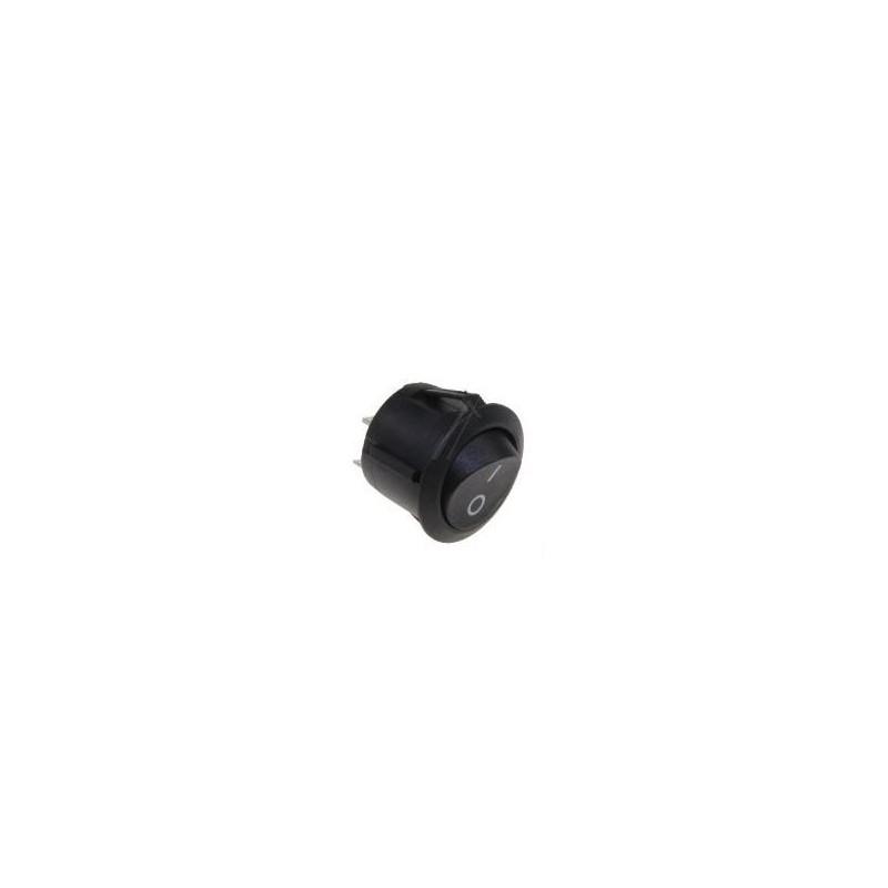 interrupteur marche arr t i 0 noir 2 cosses 16a pour nettoyeur vapeur vaporetto. Black Bedroom Furniture Sets. Home Design Ideas