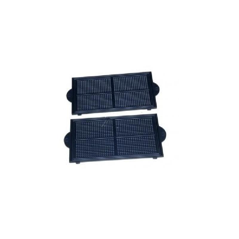 Plaques à gaufrettes (x2) pour gaufrier – moulinex ss-203102 SS ...