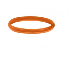 Bumper orange en caoutchouc pour aspirateur Thomas Crooser