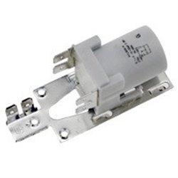 bumper jaune en caoutchouc pour aspirateur Thomas