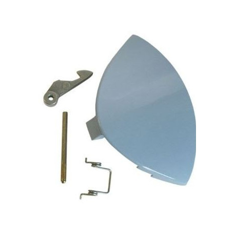Poignée bleue de porte de lave-linge – Ariston – Indésit – C00076447