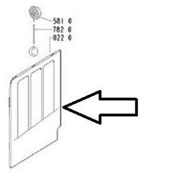 Joint de palier pour lave-linge – Bosch - 00025350