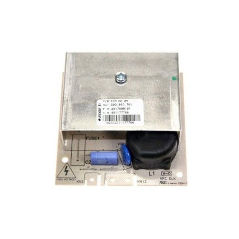 Fixation côté droit support balconnet Liebherr 7430204
