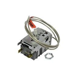 Buttoir gauche de portillon de réfrigérateur / congélateur Ariston Indésit C00075599