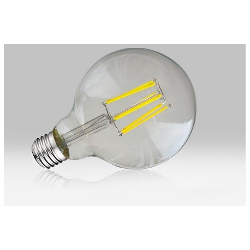 Ampoule LED COB G95 E27 8W 2700K claire