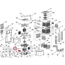 Ampoule LED COB G125 E27 8W 4000K claire