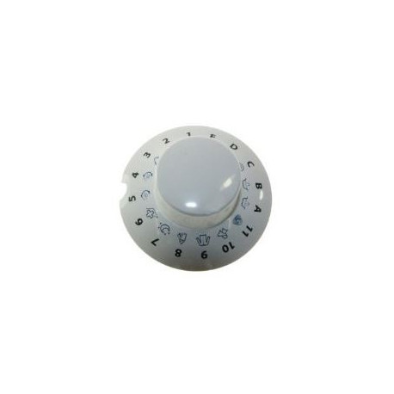 Bouton de programmateur pour lave-linge – Indésit C00259504