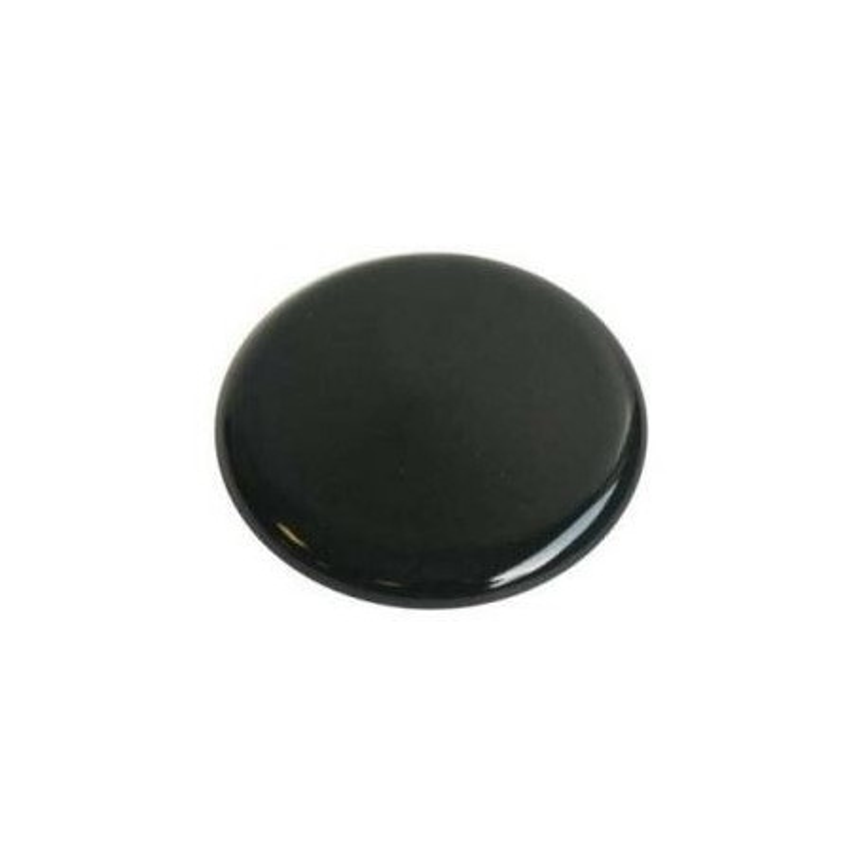 Chapeau de bruleur noir (diam 60mm) pour cuisinière – Ariston Indésit C00032429