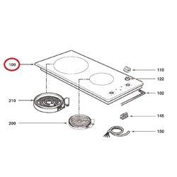 Interrupteur 6 contacts lave-linge – sèche-linge – Arthur Martin 1527532004