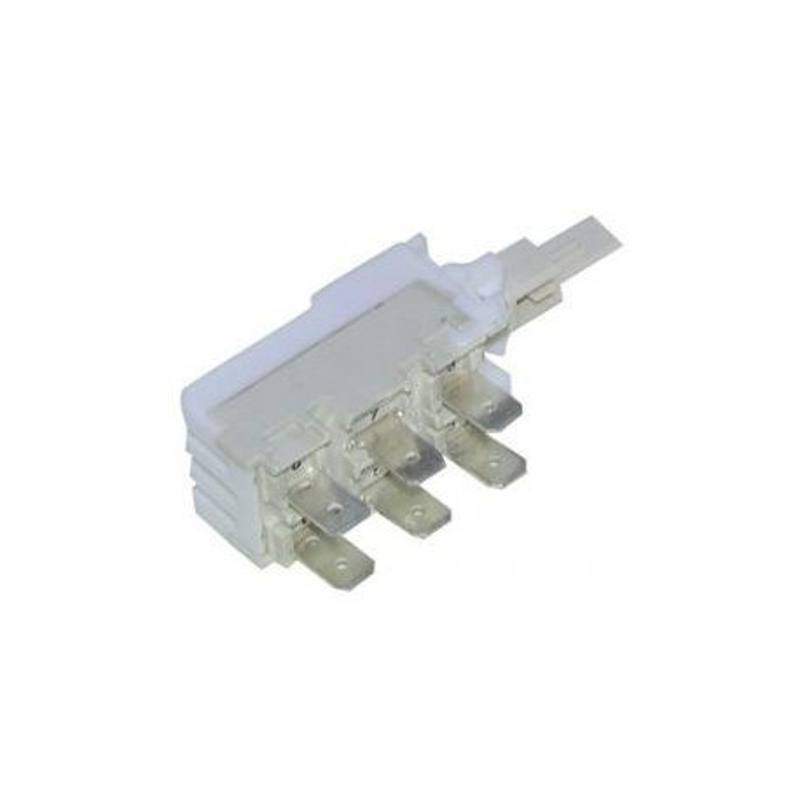 Interrupteur 6 contacts lave-linge – sèche-linge – Whirlpool 481941029126