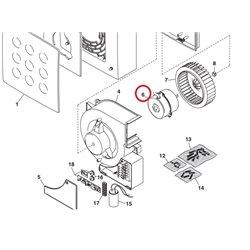 Interrupteur / sélecteur bipolaire lave-linge – Brandt 55X0606