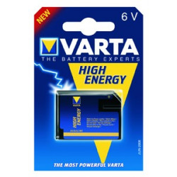 Batterie high energy alkaline VARTA 6V VR-4918